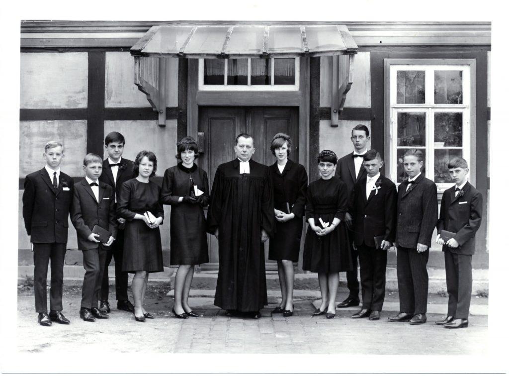Konfirmation 1965. Eimsen.